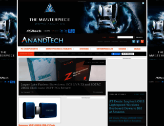 anandtech.com screenshot