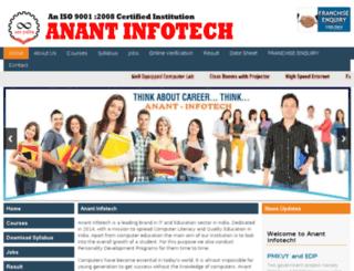 anantit.com screenshot