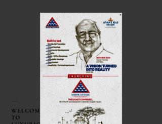 anantrajestate.com screenshot