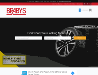 ananzi.brabys.com screenshot