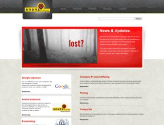 ananziproducts.co.za screenshot