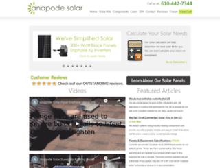 anapode.com screenshot
