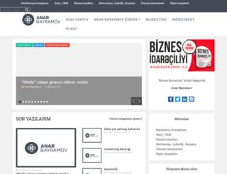 anarbayramov.com screenshot