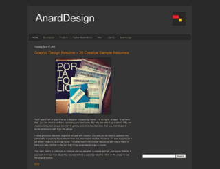 anarddesign.blogspot.co.nz screenshot