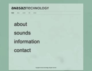 anasazi-tech.com screenshot