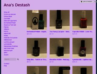 anasdestash.storenvy.com screenshot