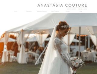 anastasiacouture.com screenshot