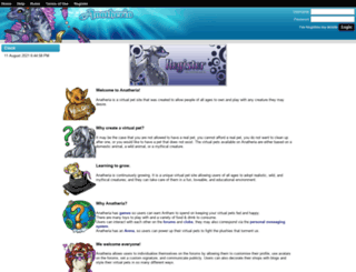 anatheria.com screenshot