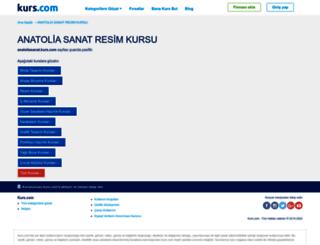 anatoliasanat.kurs.com screenshot