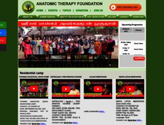 anatomictherapy.org screenshot