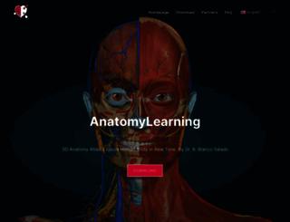 anatomylearning.com screenshot