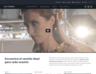 anatorres.es screenshot