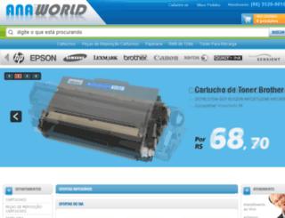 anaworld.com.br screenshot