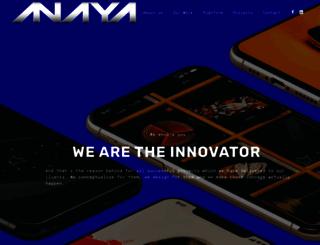 anayaworld.com screenshot