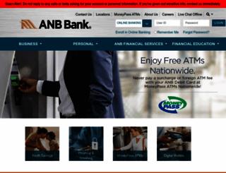 anbbank.com screenshot