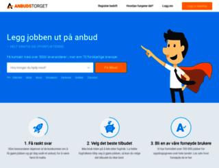 anbudstorget.no screenshot