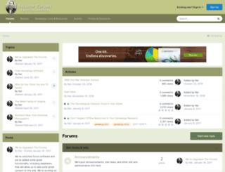 ancestorforums.com screenshot