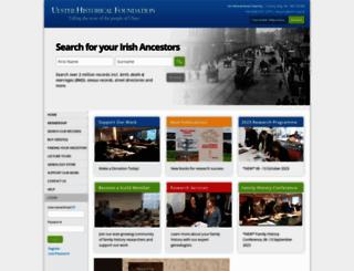 ancestryireland.com screenshot