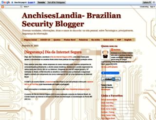 anchisesbr.blogspot.com.br screenshot