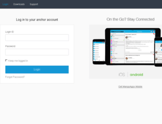 anchor-com.mangoapps.com screenshot