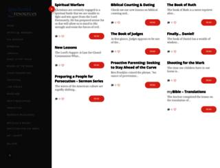 anchoredresources.org screenshot
