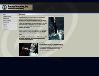 anchormachine.com screenshot