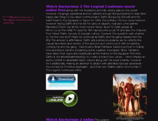 anchorman2online.portfoliobox.me screenshot