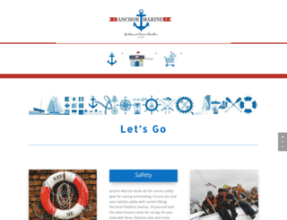anchormarine.com.au screenshot