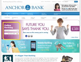 anchornetbank.com screenshot