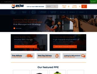 anchorsafety.co.uk screenshot
