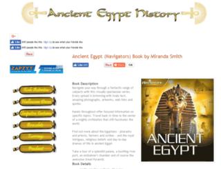 ancient-egypt-history.com screenshot