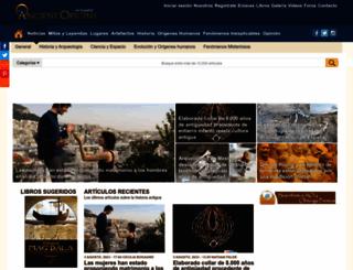 ancient-origins.es screenshot