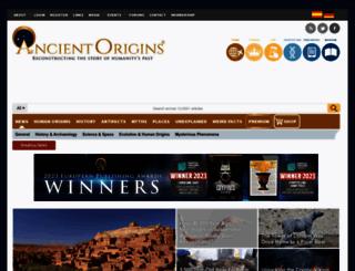 ancient-origins.net screenshot