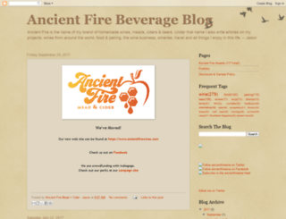 ancientfirewineblog.blogspot.com screenshot
