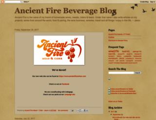 ancientfirewineblog.blogspot.com screenshot