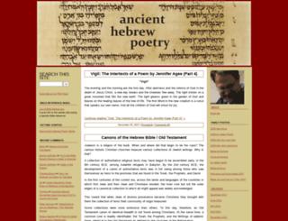 ancienthebrewpoetry.typepad.com screenshot