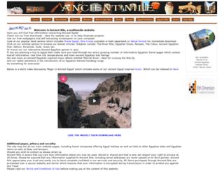 ancientnile.co.uk screenshot
