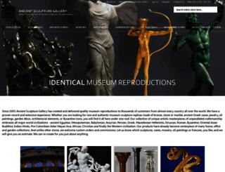 ancientsculpturegallery.com screenshot