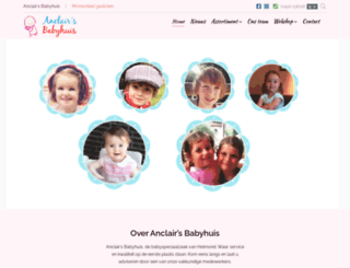 anclairs-babyhuis.nl screenshot