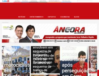 ancoradosertao.com.br screenshot