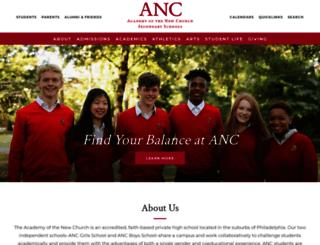 ancss.org screenshot