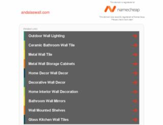 andalaswall.com screenshot