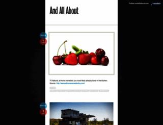 andallaboutcom.tumblr.com screenshot
