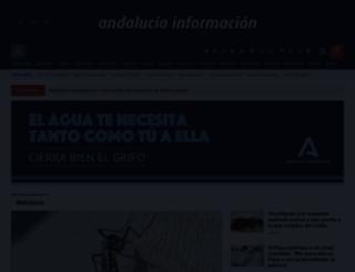 andaluciainformacion.es screenshot