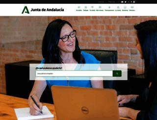 andaluciajunta.es screenshot