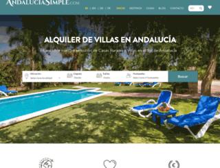 andaluciasimple.com screenshot