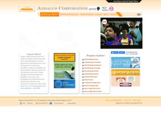 andalus.sg screenshot