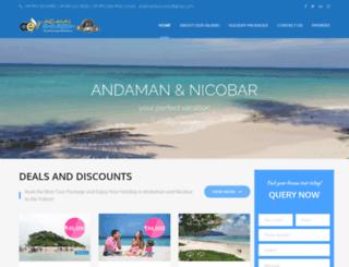 andamanexcursion.com screenshot