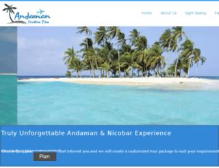 andamannicobartour.in screenshot