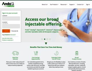 andameds.com screenshot